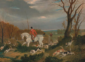 Magasiner Pour Pas Cher The Suffolk Hunt: Going To Cover Near Herringswell Cheval Chasse Herring B A3 00125-afficher Le Titre D'origine