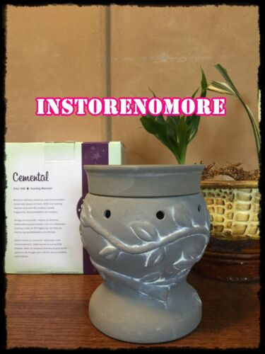 1 Scentsy FULL SIZE Cemental Warmer Retired Discontinued RARE