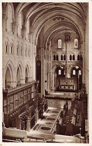 R204483 The Choir and Sanctuary. Buckfast Abbey. Photochrom