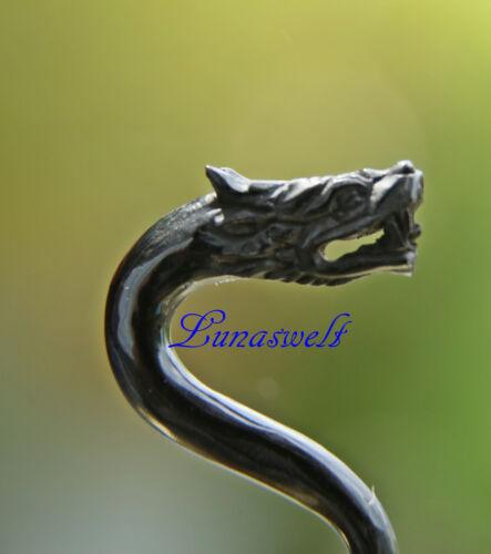 Piercing oreja dragón cuerno 4 mm expansor