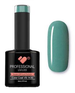 VB-1430-VB-Line-Green-Sage-Scarf-Saturated-UV-LED-soak-off-gel-nail-polish