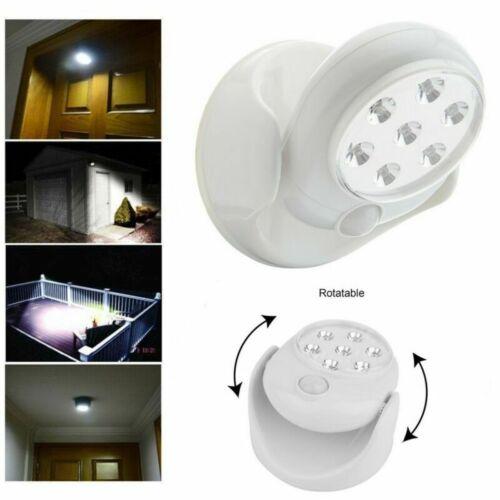 360° LED Nachtlicht mit Bewegungsmelder LEDs Nachtlicht Nachtlampe Weiß DE NEU
