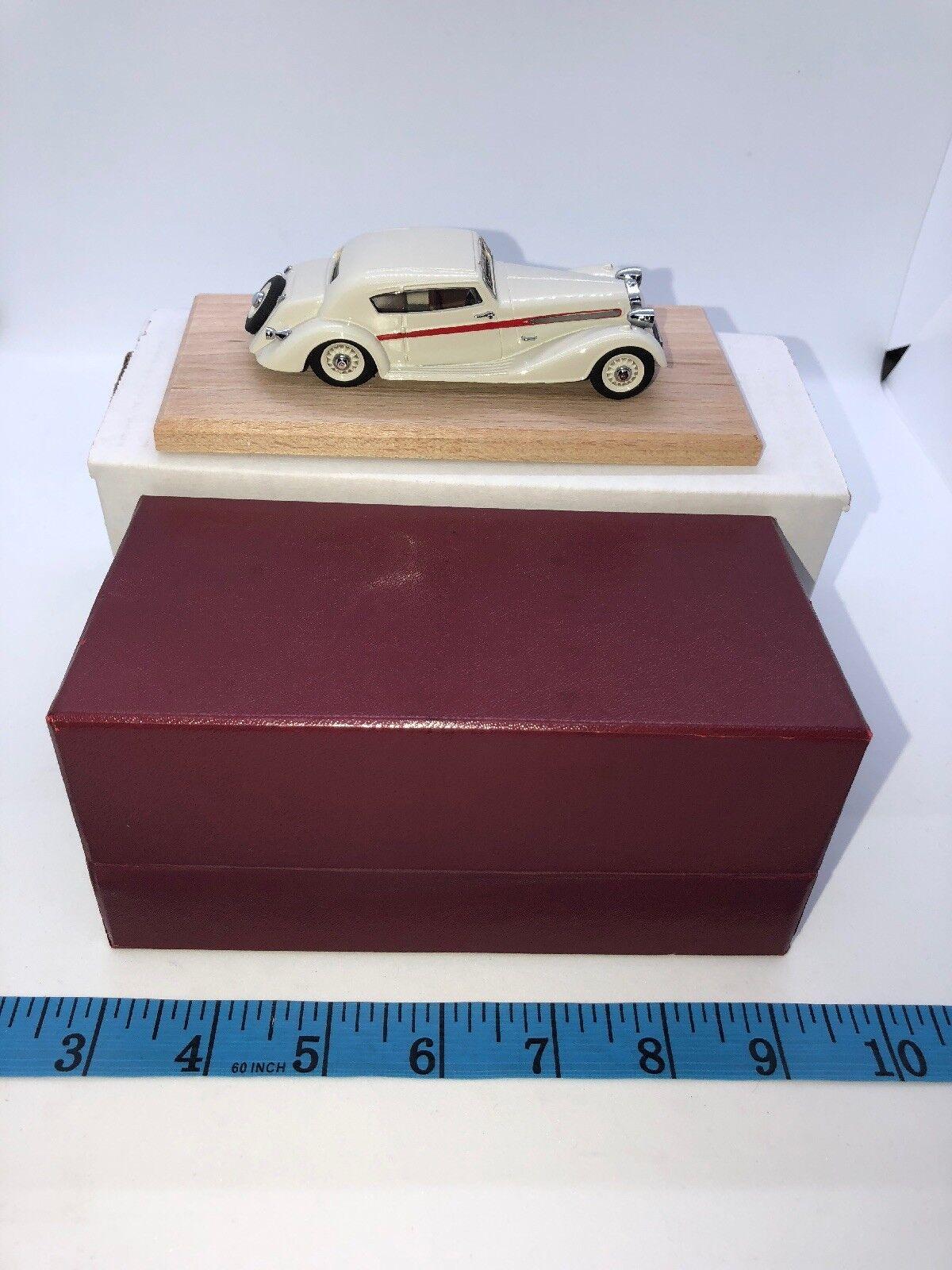 Ccc - modell 1   43 von hand gebaut - 1937 delage d6 f153 frankreich box
