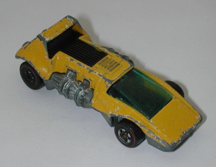 rödline varmwhies gul Enamel 1973 Double Header oc10033
