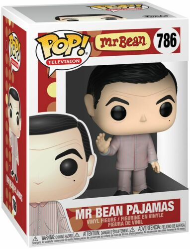 Bean Pajamas Vinyl Figure Television n° 786 Funko Mr Bean Pop Mr