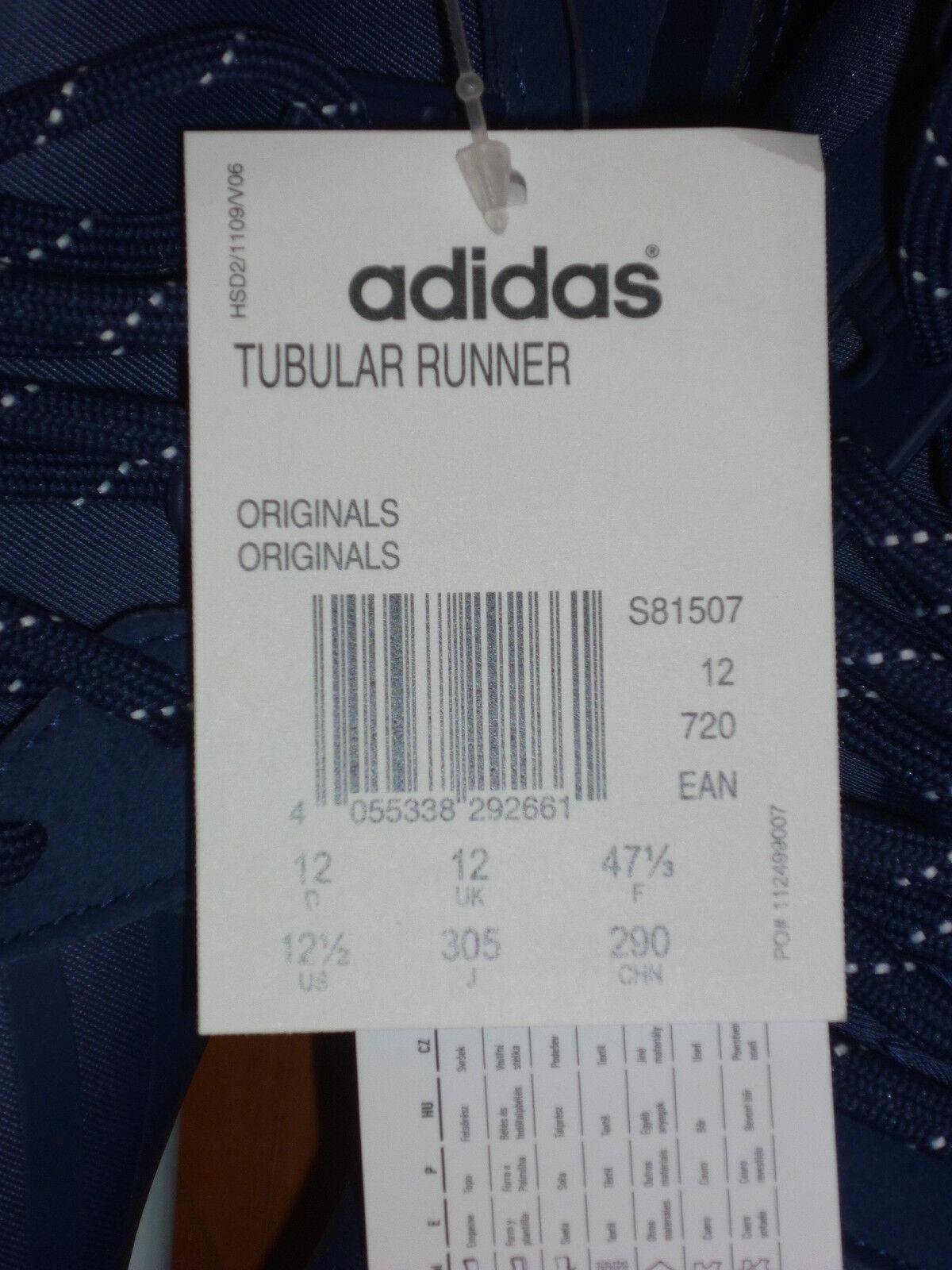 Adidas Azul Marino Tubular Runner Entrenadores (/3) para hombre (/3) Entrenadores BNWT da170b