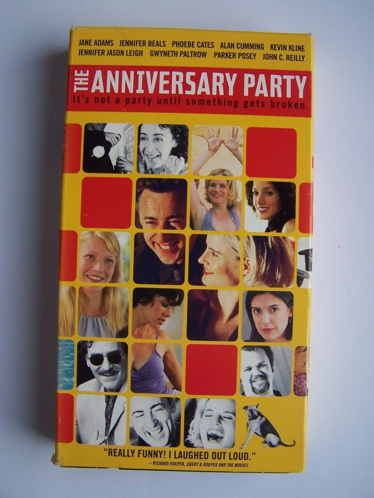 The Anniversary Party (VHS, 2002) 794043539138