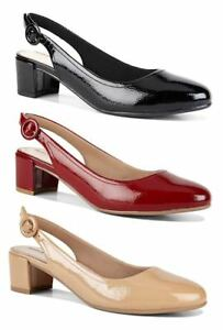WOMENS-HUSH-PUPPIES-ADULTS-FAVOURITE-WALKING-HEELS-LEATHER-SHOES