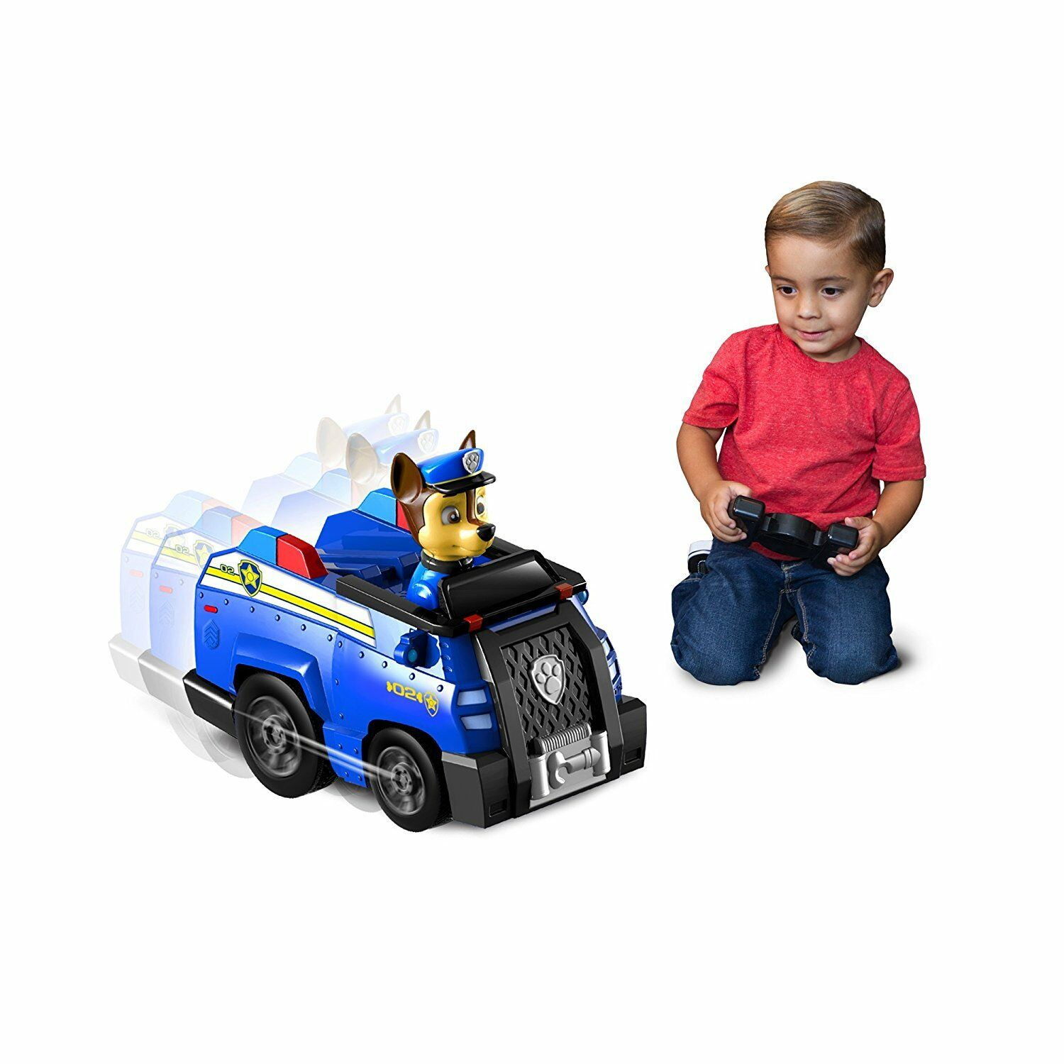 Paw Patrol Remote Control Rescue Racer (1:40) - Chase (3+ Years) RC Toy Car