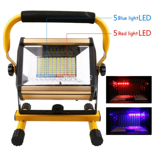 100W Rechargeable LED Work Light Portable LED Flood Light For Camping Lamp