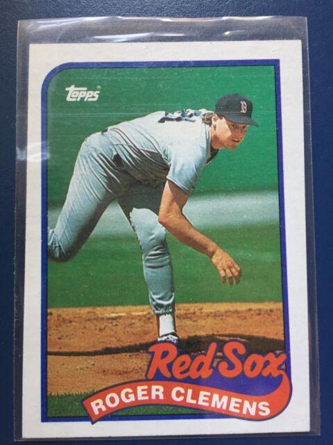 1989 Topps Roger Clemens #450 Baseball Card