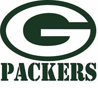 2 Green Bay Packers Corn Hole Vinyl Decals Set 15 X 13.5, Multiple Colors, Usa