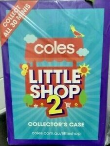 COLES-LITTLE-SHOP-2-CASE-ONLY-BRAND-NEW-amp-SEALED
