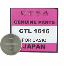 CASIO / Panasonic Rechargeable Watch Battery CTL1616 (G-Shock, Baby-G Solar)