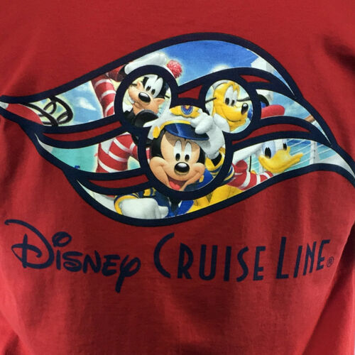 Men/'s Disney Cruise Line T-shirt Mickey and Friends Dale /& Chip SUMMER SALE .