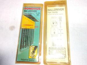 Bondhus 10932 8 Piece Sae Balldriver Blx8 Hex Key Set