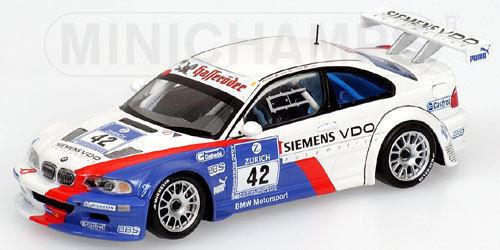 1 43 BMW M3 GTR ADAC 24 24 24 horas ganadores 2004 Muller Muller pegadas Lamy 8ff096