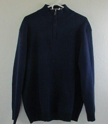 Just No Logo Mens Quarter Zip Pullover Sweater Regular Fit