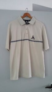Men-039-s-LE-COQ-SPORTIF-Polo-Shirt-MED-80s-casual-golf-leisure