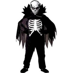 Monster Kostuem Fuer Jungen.Skelett Kostum Kinder 122 128 Jungen Halloween Zombies Monster Karneval 3844 Ebay