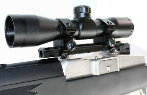 4x32-Hunting-Scope-With-single-Rail-Mount-For-Ruger-Mini-14-Mini-30-parts