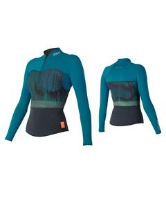 Jobe Neoprene Top 1.5 mm Teal Ladies Surf Kite Neoprene Water Ski Jetski G-7-0