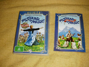 Details about rare Sing Along book THE SOUND OF MUSIC musical 1965 DVD as  NEW julie andrews R4