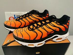size 40 ba477 5cfc0 Details about Nike Air Max Plus TN OG Orange Sunset Black Pimento  BQ4629-001 Men 8-13