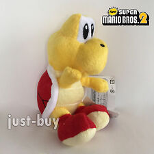 New Super Mario Bros. Plush Red Koopa Troopa Soft Toy Stuffed Animal Doll 6""