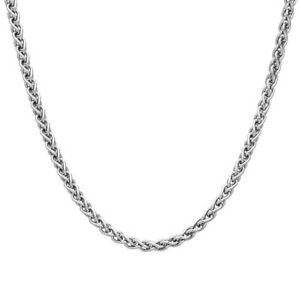 2mm-SOLID-STERLING-SILVER-925-ITALIAN-SPIGA-LINK-STYLE-CHAIN-NECKLACE-JEWELLERY