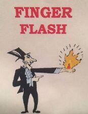 Finger Fire Magic Trick Flint Flasher Fire Ball From Empty Hand 4Pcs Halloween