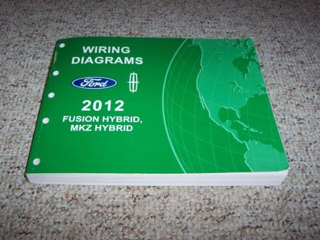 2012 Lincoln Mkz Hybrid Electrical Wiring Diagram Manual 2