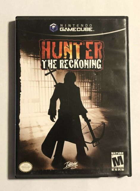 Hunter The Reckoning Nintendo Gamecube Complete TESTED FREE SHIPPING