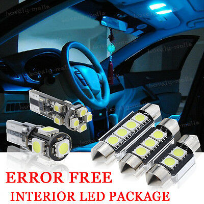 For BMW 3 Series E91 501 W5W Red Interior Door Bulb LED Trade Price Light