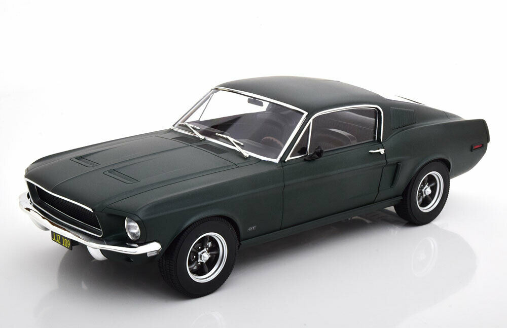 1 12 NOREV FORD MUSTANG FASTBACK COUPE 1968 Mattverdemettuttiic