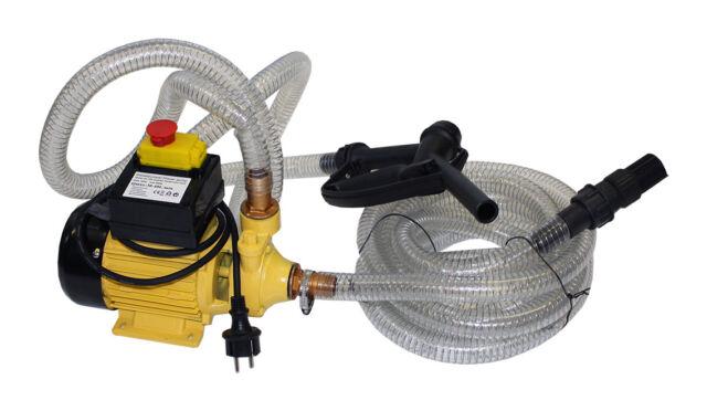 Dieselpumpe Heizölpumpe Ölabsaugpumpe Kraftstoffpumpe Benzinpumpe 600 W 2400 l/h