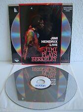 Jimi Hendrix Live | Jimi Plays Berkeley | Laserdisc | LD & Cover: Sehr Gut