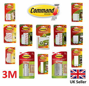 3m Command Decorating Hook Picture Hanging Strips Damage Free Small
