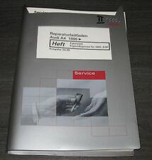 Werkstatthandbuch Audi A4 B5 Fahrwerk Eigendiagnose ABS ESP ab Baujahr 1995