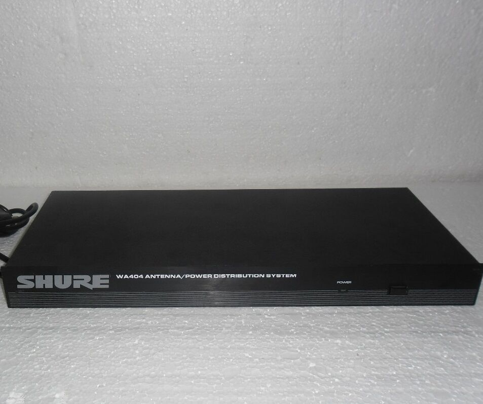 Shure WA404E Antenna Power Distribution System for Wireless Microphone system