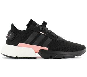 adidas Originals POD-S3.1 Boost Herren Sneaker B37447 Schwarz Schuhe Turnschuhe