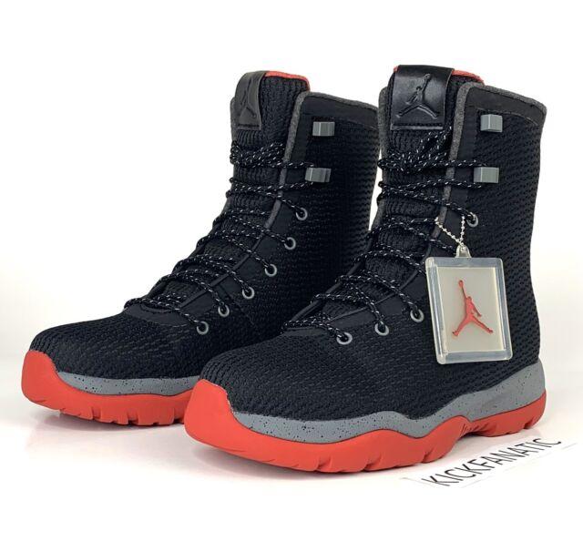 air jordan future black and red