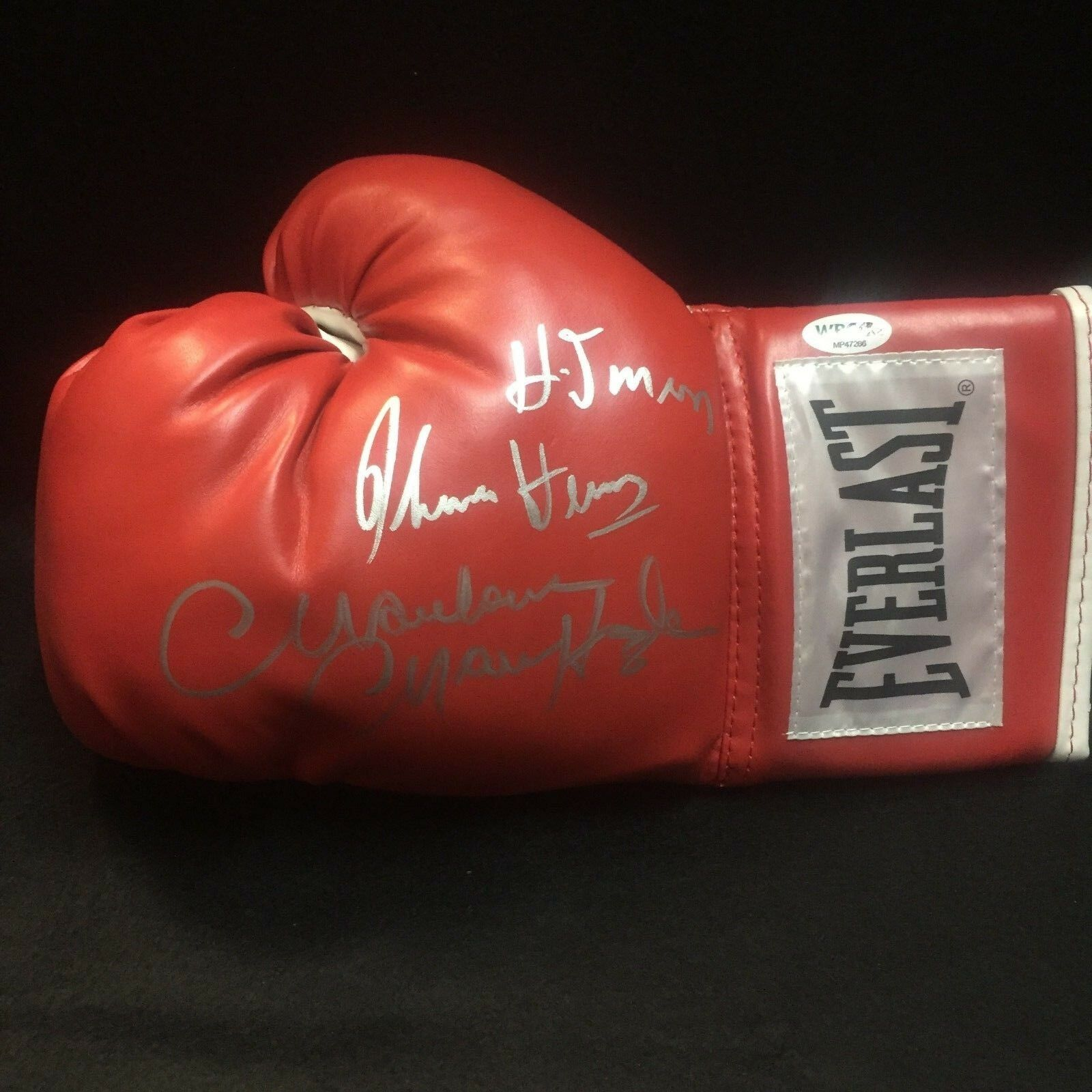 Marvelous Marvin Hagler Thomas Hitman Hearns Signed Boxing Glove With Wbc Coa Ebay