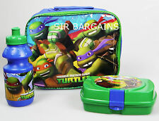 TEENAGE MUTANT NINJA TURTLES CHILDREN KIDS LUNCH SCHOOL SANDWICH BAG BOX BOTTLE