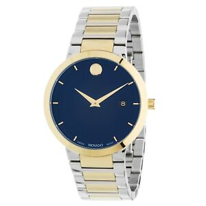 Movado 0607356 Men's Modern Classic Blue Quartz Watch