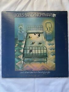 "J.GEILS BAND/Nightmares- 12"" Vinyl Record LP - EX"
