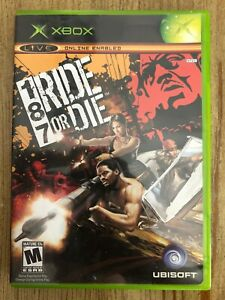 187-Ride-Or-Die-Microsoft-Xbox-Complete-W-box-amp-Manual