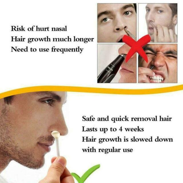 Nose Hair Removal Wax Kit Nasal Ear Hairs Painless Quick Effective Bea hot sell