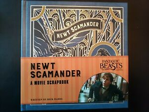 NEW-Harry-Potter-Loot-Crate-Newt-Scamander-Scrapbook-Fantastic-Beasts