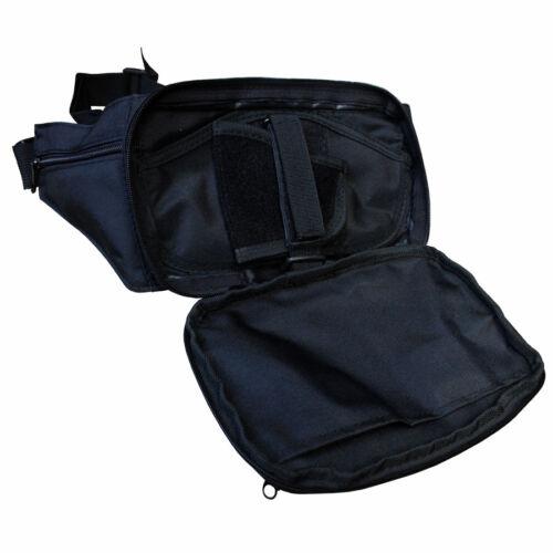 Fox Outdoor Hüfttasche Gürteltasche SECURITY Koppelbefestigung Clickverschluss